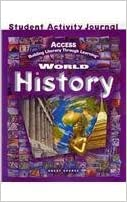 Book By GREAT SOURCE ACCESS World History: Student Activities Journal (1st First Edition)