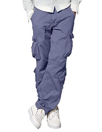 3357 Pour Pantalon Homme 3357 Vintage Gris bluish Gray Travail De Match Bleu Cargo wq6RHR0