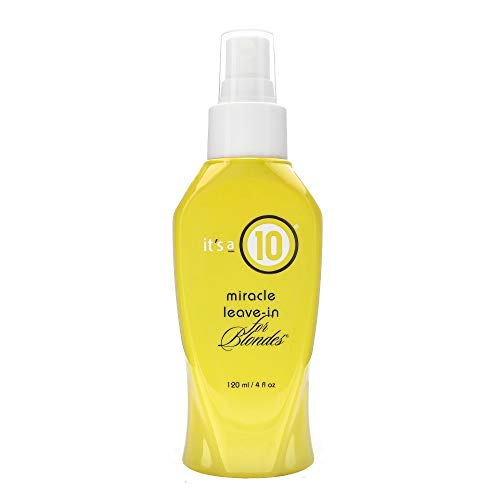 It's a 10 Miracle Leave-In for Blondes 4 fl oz