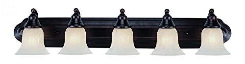 Dolan Designs 470-30 5Lt Bath Royal Bronze Richland 5 Light Bathroom Fixture, (Sconce Dolan Bronze Designs)