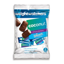 Weight Watchers Coconut, 3.25 oz. by Whitman's