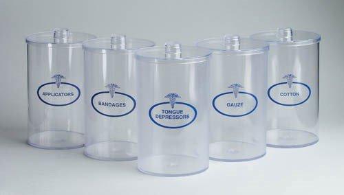 Mabis Sundry Jars- Plastic Labeled (Set of 5)