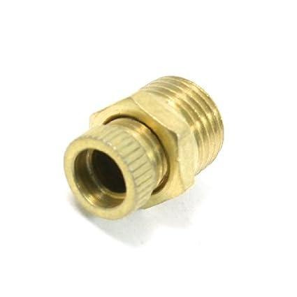 eDealMax reparación de piezas de 1/4 rosca macho Válvula de agua para compresor de aire - - Amazon.com