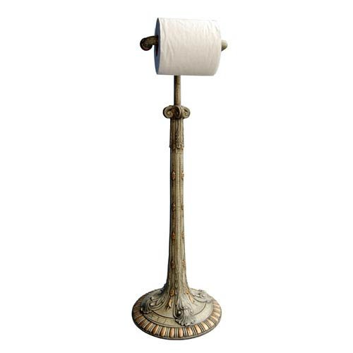 Hickory Manor House Standing Acanthus Toilet Paper Holder, Verona