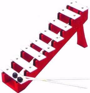 Basic Beat 8-Note Diatonic Step Bell Set by Basic Beat
