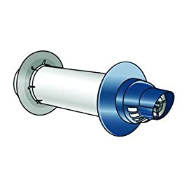 Rinnai 223188 12-Inch Universal Concentric Metal Termination Kit for LS Series by Rinnai 4 Rinnai 223188 12-Inch Universal Concentric Metal Termination Kit for LS Series Small Chrome