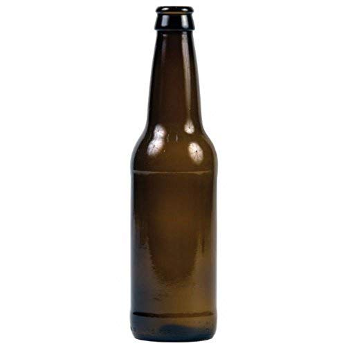 Deluxe Bottling System - Home Brew Ohio 12 oz Beer Bottles- Amber- Case of 24