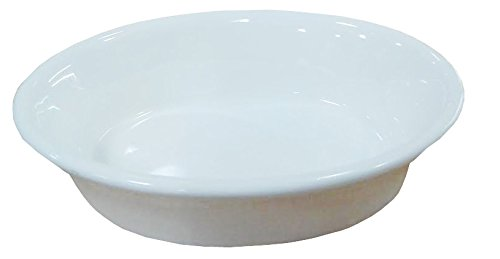 6 Pcs Oval Super White Porcelain Baking  - Oven Safe Gratin Dish Shopping Results