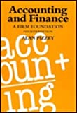img - for Accounting and Finance: A Firm Foundation by Alan Pizzey (1994-10-27) book / textbook / text book