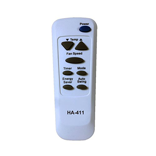 HA-411 Replacement for kenmore Air Conditioner Remote Control 6711A20089C Works for 580.74055 580.74055400 580.74082 580.74082400 580.74100 580.74100400 580.74122 580.74122400 580.74184 580.74184400 by Generic (Image #1)