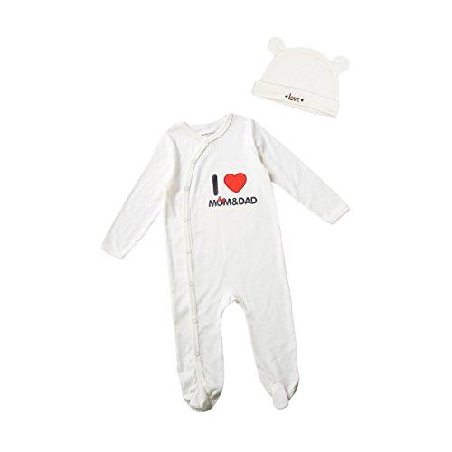 Romperinbox Unisex Sleeve Sleeper Pajamas