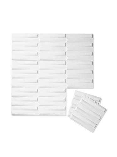 Inhabit Seesaw Wall Flats - 3D Textured Wall Panels ()