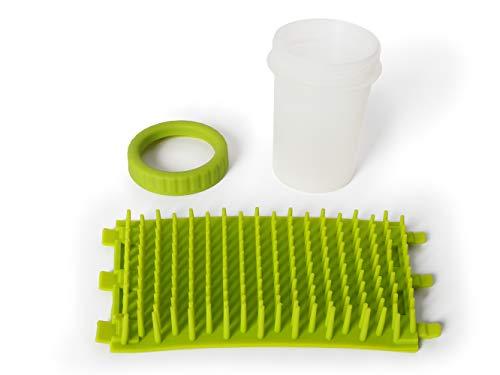 Dexas MudBuster Portable Dog Paw Cleaner, Medium, Green by Dexas (Image #2)