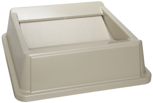 Rubbermaid Untouchable Top Containers Free Swinging