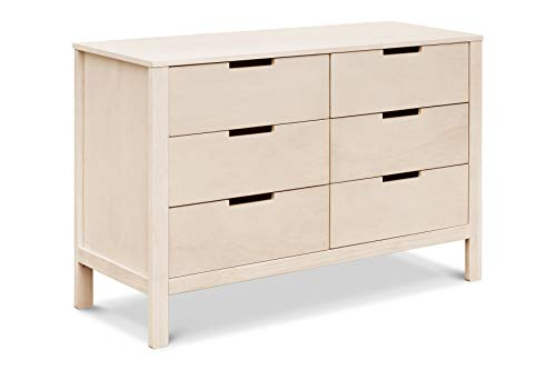 Carter's by DaVinci Colby 6 Drawer Dresser, Washed Natural