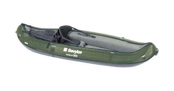 Amazon.com: Sevylor – Canoa hinchable Rio – Verde: Sports ...