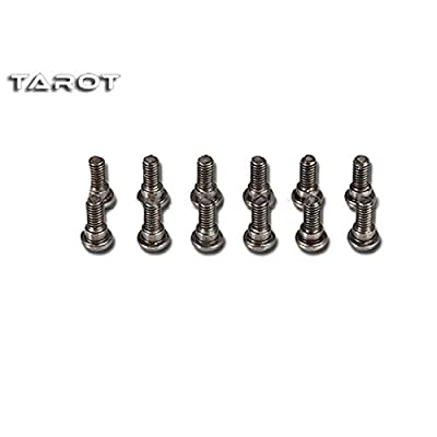 Accessories Tarot Frame Accessories Tarot 650 680 kit 12pcs M2.5x6 Hexagon Screw Quadcopter M2.5x6 Stepped Screws DIY Drone kit - (Color: 12 PCS): Toys & Games