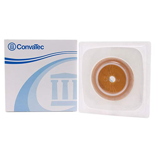 Surfit Natura Stomahesive Flexible Skin Barrier, Model No : 125260, Size: 57 mm flange - 10/Box by ConvaTec