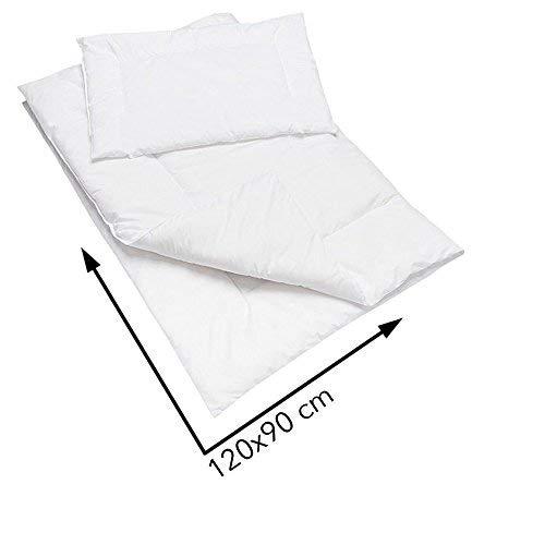 Anti Allergie couette et oreiller Set 120x90 cm pour Lit b/éb/é