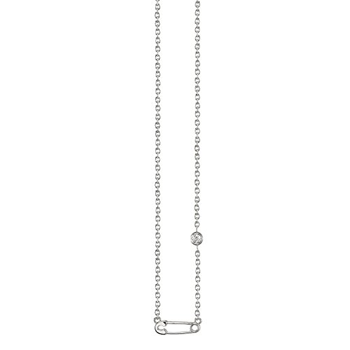 Shy By Sydney Evan femme  Argent 925/1000  Argent|#Silver Rond   Blanc Diamant FASHIONNECKLACEBRACELETANKLET