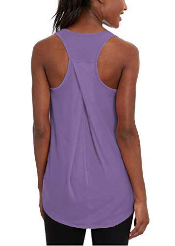 Bestisun Workout Clothes for Women Workout Tops Racerback Athletic Tank Tops Loose Fit for Women