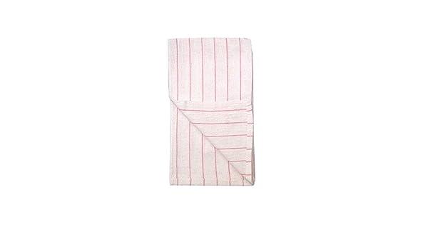 White//Red Stripe Restaurant Towels 12 pk.