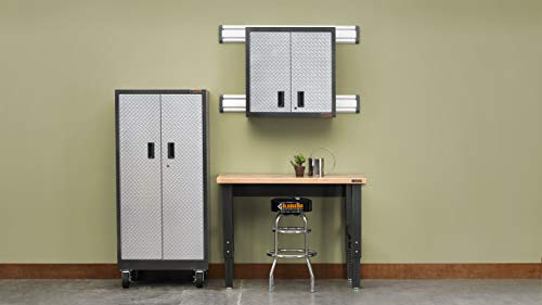 Gladiator GAWB04HWEG Adjustable Hardwood Workbench, 4'