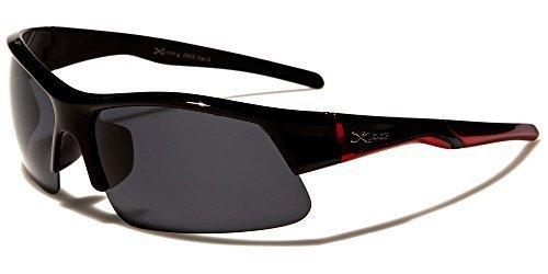 NEU XLoop Designer Herren Damen Sport Laufen leicht Sonnenbrille UV GRATIS Etui IfU0K