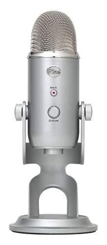 Blue Yeti Studio Gaming Twitch Microphone Streaming Recording Game Mic