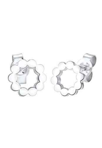 Elli - Boucles d'oreilles - Argent 925 - Cercle - 0310340416