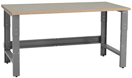 """BenchPro Premium Table & Workbench: 1-1/8"""" Thick Particle Board Top"""