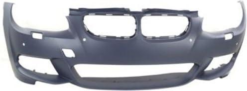Crash Parts Plus Primed Rear Bumper Cover Replacement for 2011-2012 BMW 3 Series