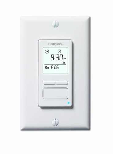 Honeywell Econoswitch RPLS740B 7-Day Solar Time Table Programmable Switch for Lights and - Honeywell Natural