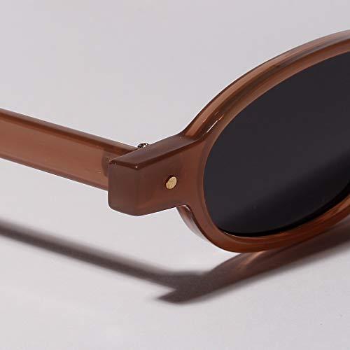 5be6241cd0 Des Style Cool Accessoires Soleil Unisexe Tinaa Rivet Lunettes De A Ovales  Mode OPZkXTiu