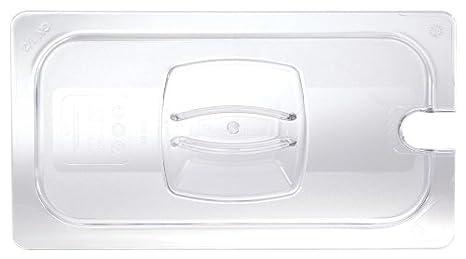 motivo con intagli Rubbermaid-Contenitore Gastronorm 1//1-Custodia rigida trasparente