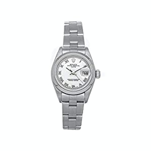 Best Epic Trends 31WYYraeebL._SS300_ Rolex Datejust Mechanical(Automatic) White Dial Watch 79160 (Pre-Owned)
