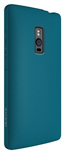 OnePlus 2 Case, Diztronic Full Matte Slim-Fit Flexible TPU Case for OnePlus Two - Teal Blue - (OP2-FM-TEAL)