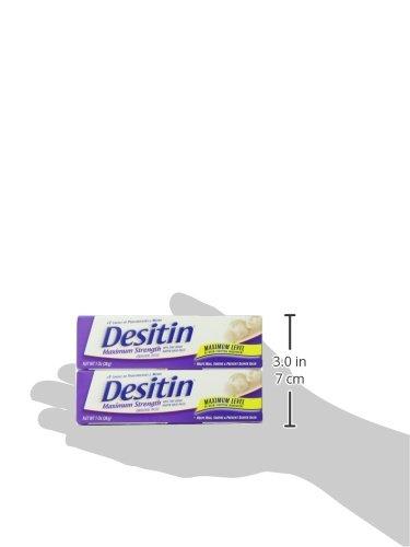Desitin Diaper Rash Maximum Strength Original Paste, Travel Size, 1 Oz. Tube (Pack of 6) by Desitin (Image #11)