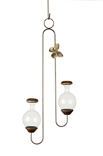 Hanging Brass Butterfly (Brass Butterfly The Double Hanging Plant Rooter)