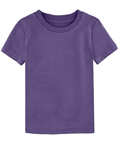 MOMBEBE COSLAND Baby&Kids Plain T-Shirt Age 1-16 Years