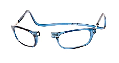 Clic Magnetic Reading Glasses in Blue Jeans +2.00