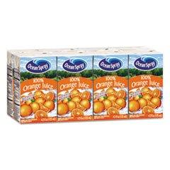 orange juice cartons - 1