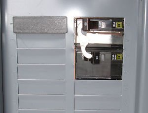 Square D Generator Transfer Switch Panel Indoor for up to 10KW Generator by Square D
