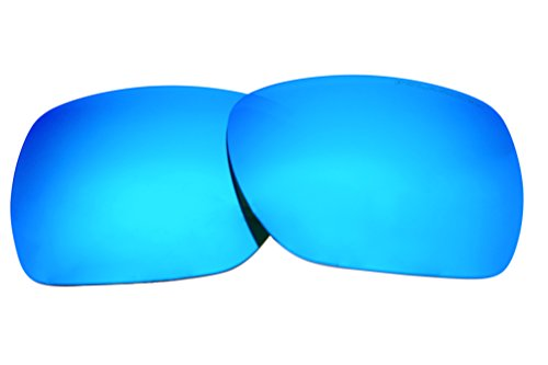 Polarized Replacement Sunglasses Lenses for Oakley Deviation with UV Protection(Ice Blue Mirror) by C.D