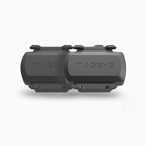 Magene Bike Speed/Cadence 2-in-1 Sensor ANT+ Bluetooth Multi-protocol supported GEMINI210 (2Speed/Cadence Sensor)