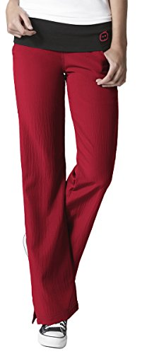 WonderWink Womens Stretch Foldover Waist Scrub