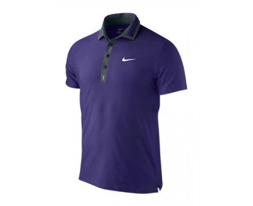 Nike Roger Federer Master Polo Tennis Uomo Viola/Nera M ...