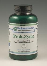 - Nutritional Frontiers Prob-Zyme 90 Orange Flavored Chewable Wafers by Nutritional Frontiers
