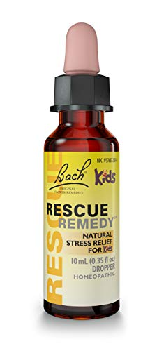 - Bach Kids Rescue Remedy Natural Stress Relief Drops, 10 ml