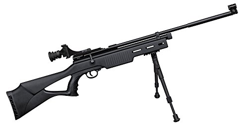 Beeman AR2078AB Bolt Action Co2 Air Rifle, Synthetic Stock, Comopetition Diopter Sight, with Bipod in .177 Caliber (Co2 Bolt)